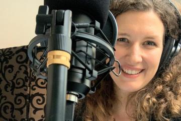 podcast Delphine Van Belleghem, sociale media